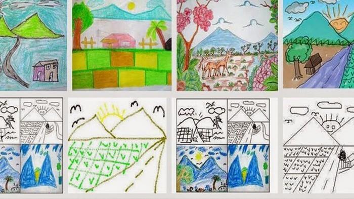 Kenapa Anak Kecil Suka Menggambar Gunung Begini Penjelasannya Ilmupedia Co Id